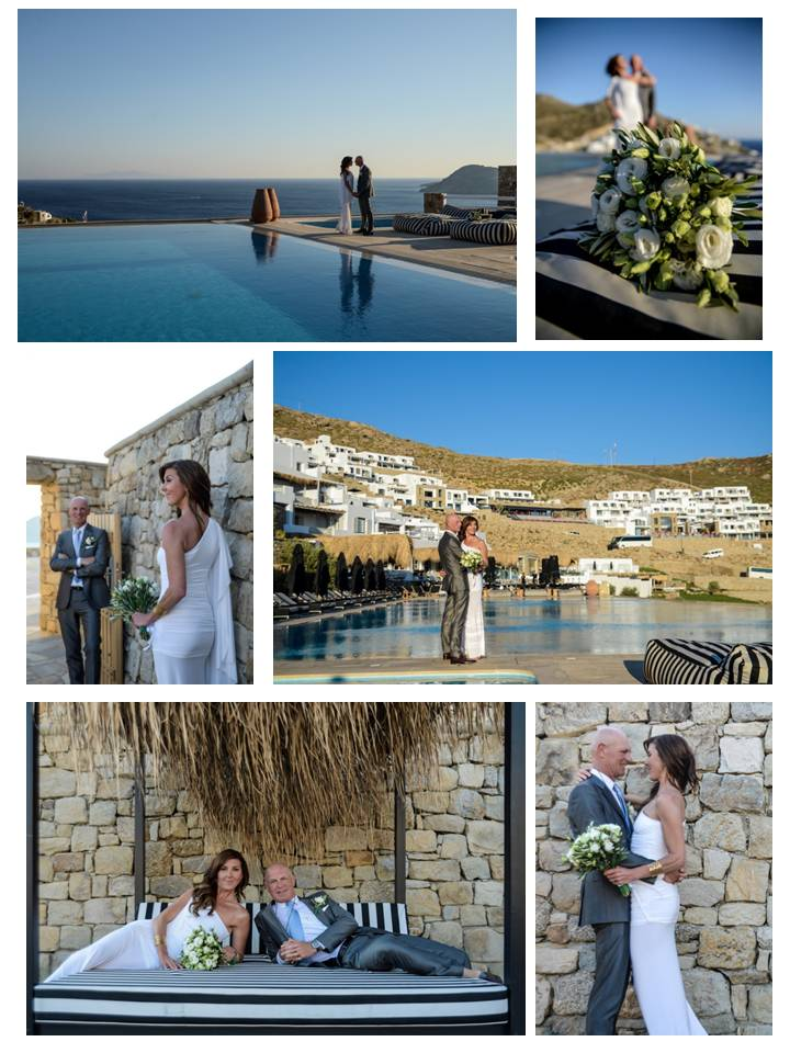 mykonos weddings.com Ancient Greek themed wedding story 11