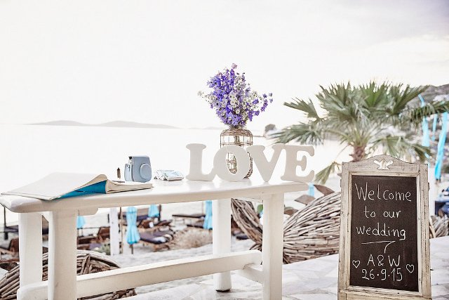 Mykonos Weddings.com Decorations63